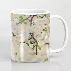 Delicate White Cherry Blossoms  Mug