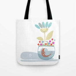 The shadow of the whale Tote Bag
