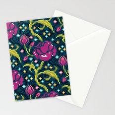Pixel Flora Stationery Cards