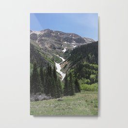 Valley Mountains Metal Print