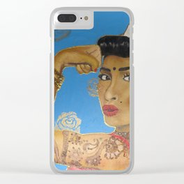 Riveter Clear iPhone Case