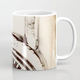Found Objects Lock Coffee Mug
