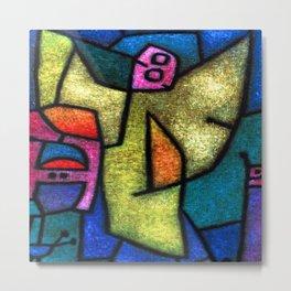 Paul Klee Angel Militant Metal Print