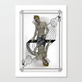 King of Brains Canvas Print