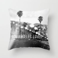 Los Angeles lover number 2 Throw Pillow