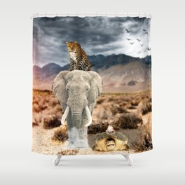 Who's the King ? by GEN Z Shower Curtain