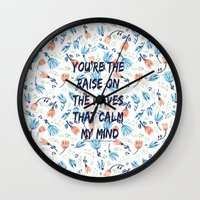 lyrics Wall Clocks featuring Fool's Gold Lyrics by summergirl