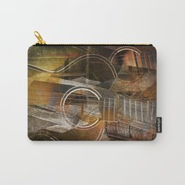 Abstract Cubist Style Guitar Carry-All Pouch