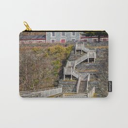 Hospital Steps at Llanberis Quarry Carry-All Pouch