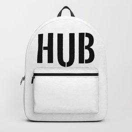 HUB Block Letters Backpack