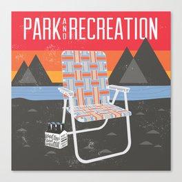 Park & Recreation Canvas Print
