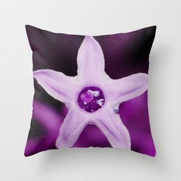 Night blooming jasmine flower #society6 #decor #buyart #artprint Throw Pillow
