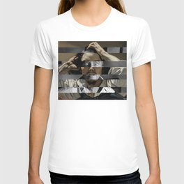 Courbet's The Desperate man & James Stewart T-shirt
