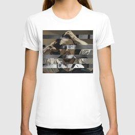 Courbet's The Desperate man & James Stewart T-shirt