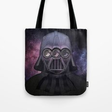 3 Eyes Darth Vader Tote Bag
