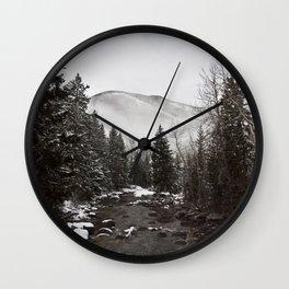 Mid Winter Wall Clock