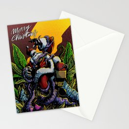 The Misadventures of Santa No1 Stationery Cards