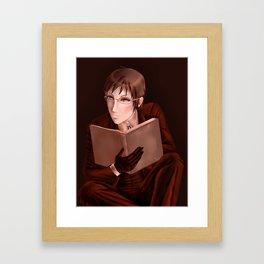 Alan Humphries Reading Color Challenge Framed Art Print