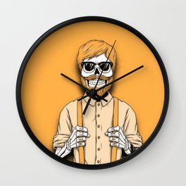 Hipster Beard Wall Clock
