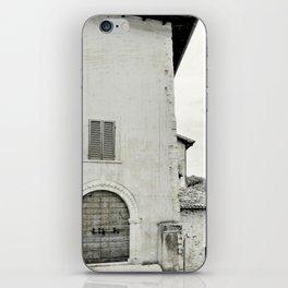 Italian street view iPhone Skin