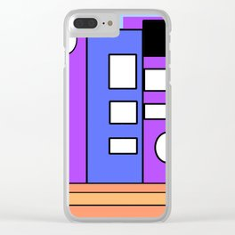 The Artist in the Day Clear iPhone Case