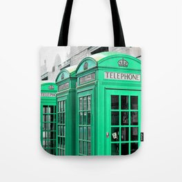 Reed Booths Turned Seafoam Tote Bag