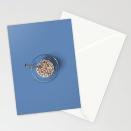 Morning routine Stationery Cards