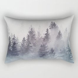 Winter Wonderland - Stormy weather Rectangular Pillow