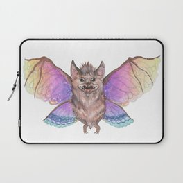 Marvelous Things - Bat with Butterfly Wings Laptop Sleeve