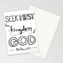 Seek First Classic Stationery Cards