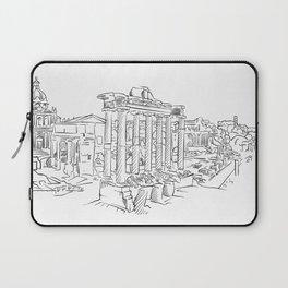 Ancient Rome roman forum Laptop Sleeve
