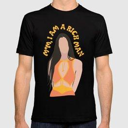 mom, i am a rich man T-shirt