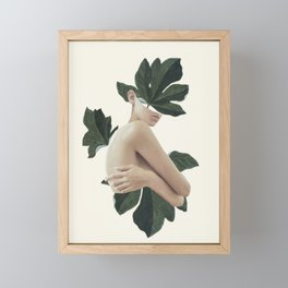 natural beauty-collage Framed Mini Art Print