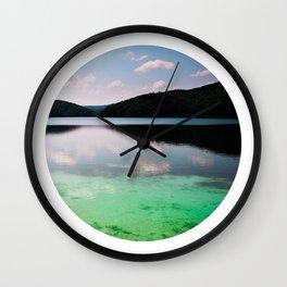 Oblò: Plitvice lakes Wall Clock