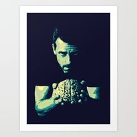 house md Art Prints featuring HOUSE MD by Bianca Lopomo