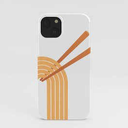 Double Chops iPhone Case