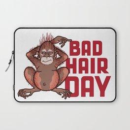 Bad Hair Day Laptop Sleeve