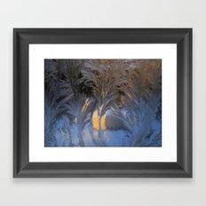 frost fans Framed Art Print
