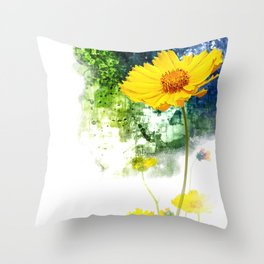 Summer #01 Throw Pillow