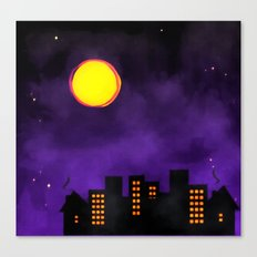 Night Shift Canvas Print