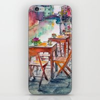 street iPhone & iPod Skins featuring Street by Anastasia Tayurskaya