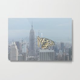 Butterfly Empire Metal Print