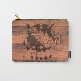 Oklahoma Flag Brand Carry-All Pouch