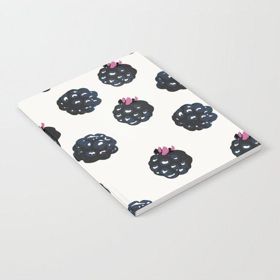 Blackberries pattern Notebook