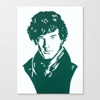 benedict Canvas Prints featuring Benedict by iankingart
