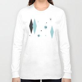 Vintage 1950s Mid Century Modern Design Long Sleeve T-shirt