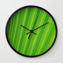 The green lines Wall Clock