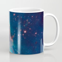Space Nebula, A View of Astronomy, Stars, Galaxy, and Outer space  Coffee Mug