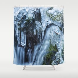 Ice and Water, No. 2 Shower Curtain