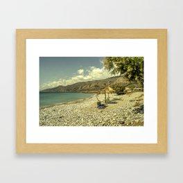Cretan Paradise Framed Art Print